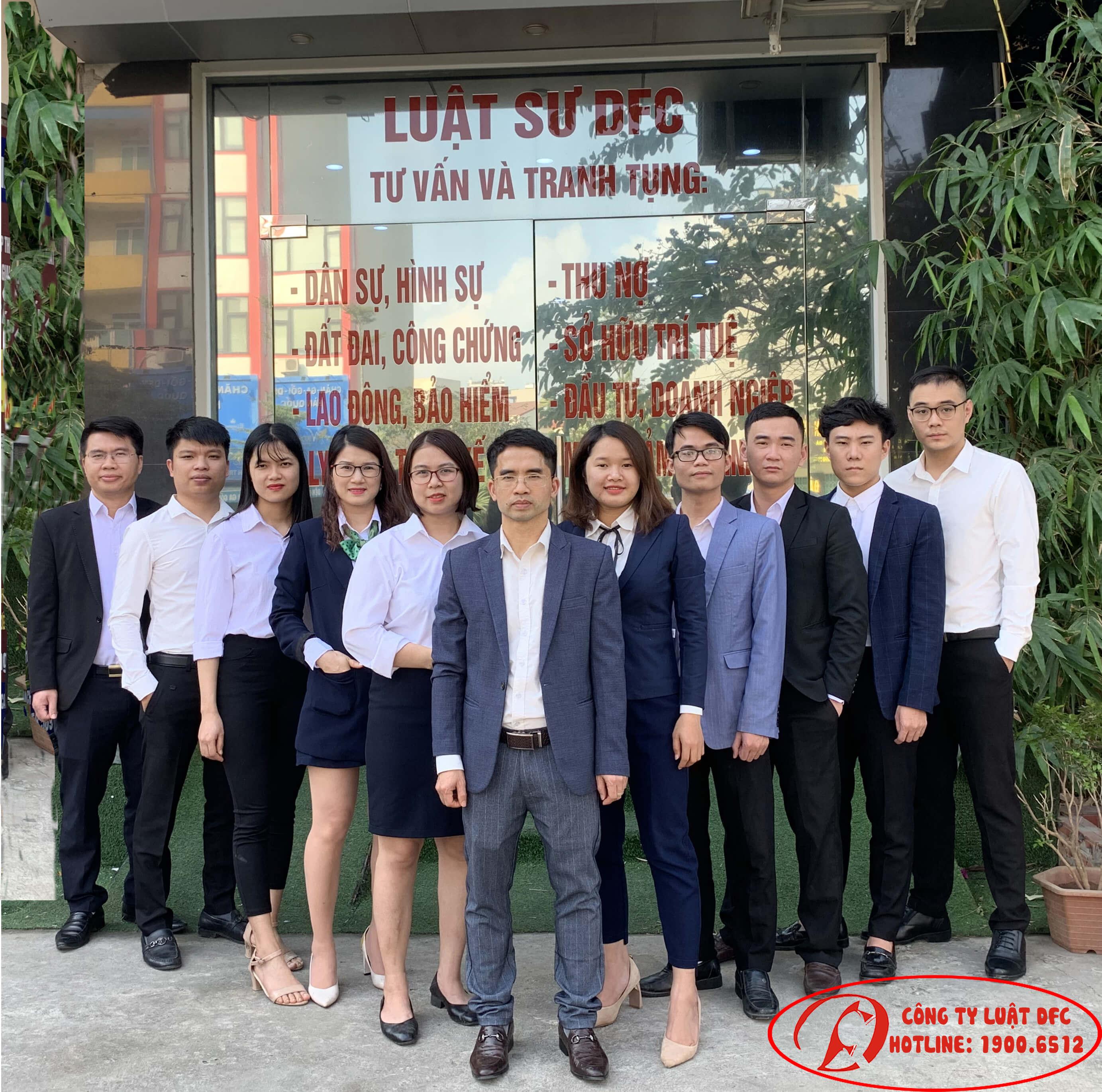 Đội ngũ Luật sư tư vấn DFC - 19006512